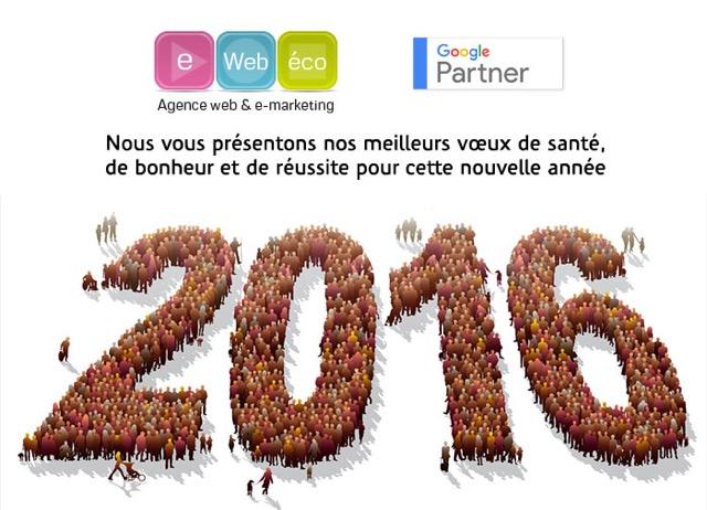 voeux agence Internet Bordeaux e web eco