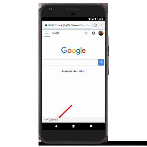 Googlegeolocalisation