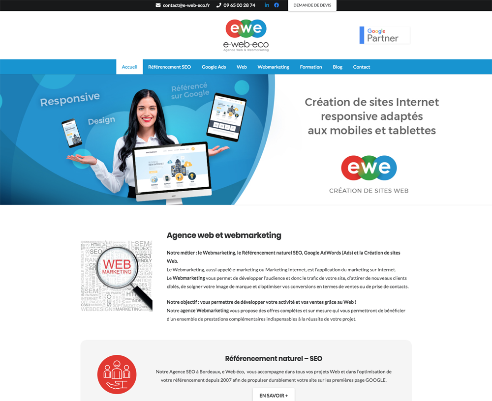 Site Webmarketing e-Web-eco